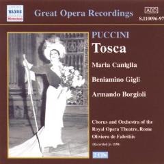 Borgioli, Armando / Caniglia, Maria / Dominici, Ernesto / Endreze, Arthur - Tosca (CD)