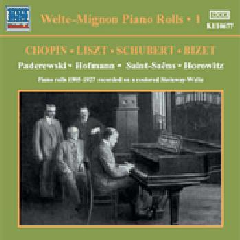 Welte - Mignon Piano Rolls - Vol.1 - Various Artists (CD)