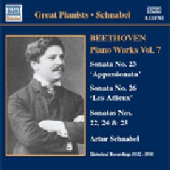 Beethoven - Sonatas Vol.7;Schnabel (CD)