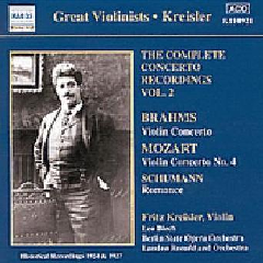Fritz Kreisler - Concerto Recordings Vol.2 (CD)