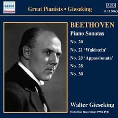 Gieseking: Great Pianists - Piano Sonatas (CD)