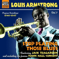 Louis Armstrong - Stop Playing Those Blues (CD)