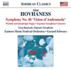 Banaszak, Greg - Symphony No.48 / Prelude and Quadruple Fugue / Soprano Saxophone Concerto (Banaszak, Eastern Music Festival Orchestra, G. Schwarz) (CD)