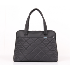 "Kingsons 15.4"" Black Shoulder Laptop Bag - Ladies In Fashion"