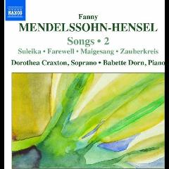 Mendelssohn Hensel:Songs Vol 2 - (Import CD)