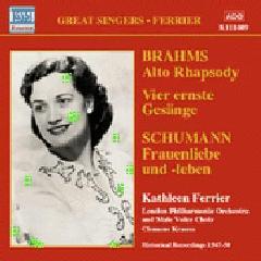 Brahms/Schumann - Alto Rhapsody/Frauenliebe;Ferrier (CD)
