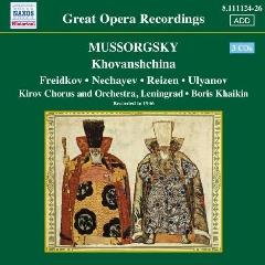 Mussorgsky - Khovanschina (CD)