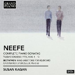 Neefe/Beethoven:12 Piano Sons;9 Varia - (Import CD)