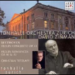 Zinman David / Tonhalle Orchester Zurich - Violinkonzert Und Romanzen (CD)