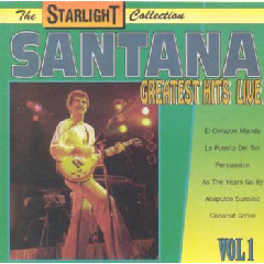 Santana - Greatest Hits Live - Vol.1 (CD)