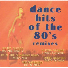 Dance Hits Of The 80's - Remixes - Various Artists (CD)
