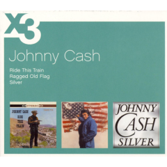 Cash Johnny - Ragged Old Flag / Ride This Train / Silver (CD)