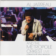 al Jarreau, Metropole Orkest - Al Jarreau And The Metropole Orkest - Live (CD)