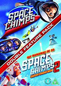 Space Chimps 1 and 2 (DVD)