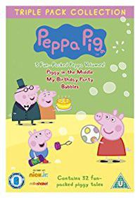 Peppa Pig: Piggy in the Middle/My Birthday Party/Bubbles (DVD)