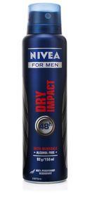 Nivea Deodorant Dry Spray Male 150ml- CJ