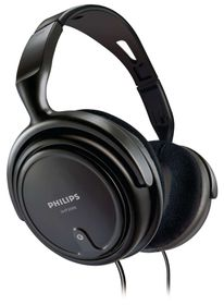 Philips - Stereo Headphones - Black