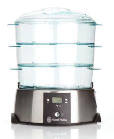 Russell Hobbs - 3 Tier Satin Quartz Food Steamer