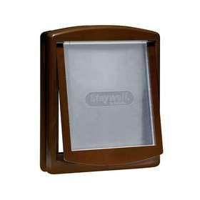 Staywell - Original 2 Way Pet Door 700 Series Flap - Medium - Brown