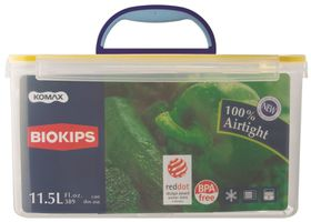Snappy - 11.5 Litre Rectangular Food Storage Container With Handle - 22 cm x 31 cm x 16.5 cm