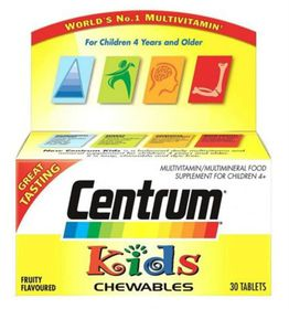 Centrum Tablets 30 Kids Wyeth