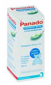 Panado Paediatric Syrup 100ml 214528
