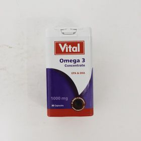 Vital Omega 3 Concentrate - 30's