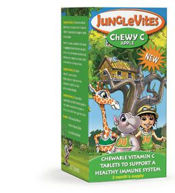Vitaforce Junglevites Chewy C 60 Apple