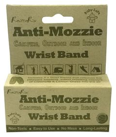 Reitzer Camp/Outdoor Anti Bug Wrist Bands