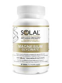 Solal Magnesium Glycinate - 60 Tabs