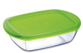 Pyrex - Storage Cook and Store Rectangular Dish With Lid - 2.5 Litre