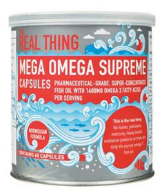 The Real Thing Mega Omega Supreme Capsules -60