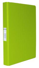 Bantex A4 2 O-Ring PVC 25mm Ringbinder - Lime Green