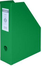 Bantex Magazine Filing Box (PVC) - Green