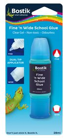 Bostik Fine 'n Wide School Glue