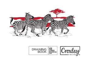 Croxley JD205 A3L 32 Page Drawing Book (Pack of 10)