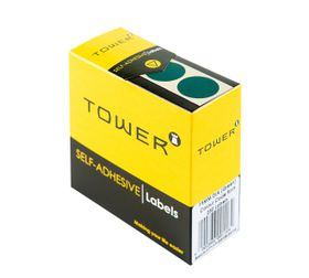 Tower C19 Colour Code Labels - Green