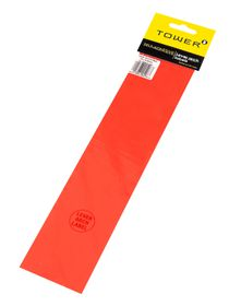 Tower Lever Arch Labels - Fluorescent Red