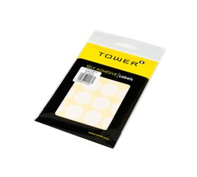 Tower White Sheet Labels - C25