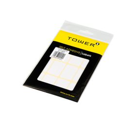 Tower White Sheet Labels - S2538