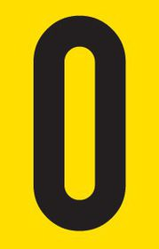 Tower Adhesive Letter Sign - Large O