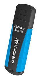 Transcend Jetflash 810 Rugged Flash Drive - 32GB