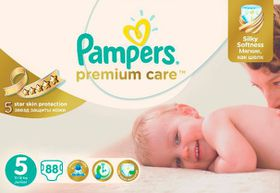 Pampers - Premium Care Nappies - Mega Pack - Size 5