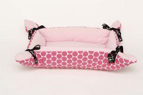 Wagworld Cupcake Pet Bed (Pink Polka Dot)