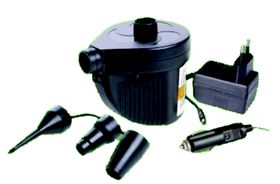 LeisureQuip - Rechargeable Inflator & Deflator Air Pump - Black