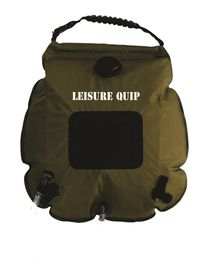 LeisureQuip - 20 Litre Deluxe Solar Shower With Digital Temperature Gauge