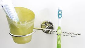 Steelcraft Toothbrush & Tumbler Holder