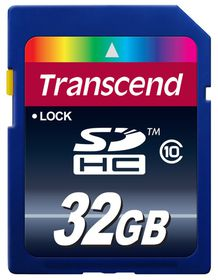 Transcend 32GB Class 10 SDHC Card