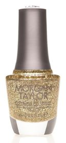 Morgan Taylor Nail Lacquer - Glitter & Gold (15ml)