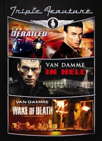 Derailed / In Hell / Wake of Death - (Region 1 Import DVD)
